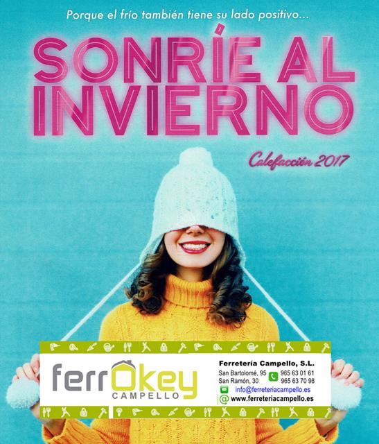 Sonr e al invierno ferrokey campello for Ferrokey jardin 2016